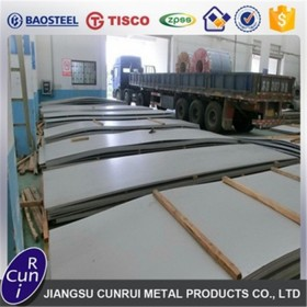 DIN1.4310 Stainless Steel Sheet SS304 Grade with branded mill Tisco direct sales